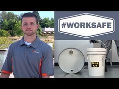 #WorkSafe: 5 Gallon HazMat SpillKit - YouTube