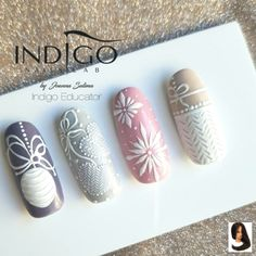 result for indigo nails effect holo pink Christmas Manicure, Xmas Nails, Christmas Nail Designs, Christmas Nail Art, Holiday Nails, Snow Nails, Summer Christmas, Matte Nails, Pink Nails