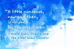 Bilderesultat for roald dahl quotes