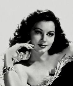 Only one Ava Gardner.