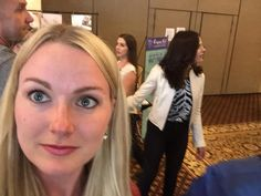 That moment u take a selfie and @LanaParrilla is behind u!!!