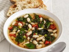 White Bean-Chard Soup Recipe | Food Network Kitchen | Food Network