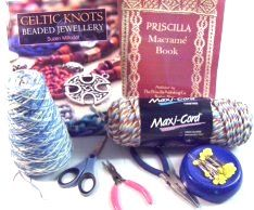 Macrame Essentials... Macrame Essentials covers a variety of topics you must become familiar with, in order to progress in skill. This craft is more than simply tying knots. You need to know how to prepare the cords, choose the right beads, and know which supplies you need for your Macrame project.