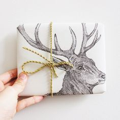10 Pack Wrapping Paper Handmade sheets by BlessingAndHonour Wrapping Ideas, Wrapping Gift, Christmas Gift Wrapping, Christmas Deer, Christmas Design, All Things Christmas, Christmas Gifts, Christmas Print, Paper Packaging