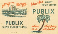 Vintage Publix - Florida - Where I will buy my food/supplies if I win the Grilling the Dream Florida Food, Florida Style, Florida Girl, Florida Living, Old Florida, Vintage Florida, State Of Florida, Florida Travel, South Florida