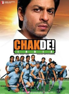 Chak de! India (2007)  The story of a hockey player who returns to the game as a coach of a women's hockey team.