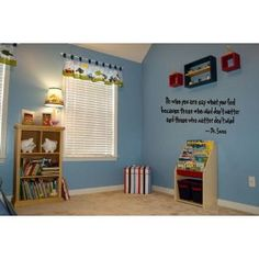 i would love this quote in my child's room when i have one