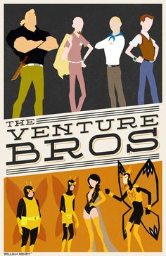 The Venture Bros poster by billpyle.deviantart.com