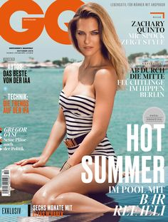 On the 27th of June Moi Ostrov Studio managed a photo shoot with Supermodel Bar Refaeli for GQ Germany. Bar flew in from Israel early on the 26th for the shoot which tool place at the Luxurious Almyra Hotel in Paphos, Cyprus. The photographer was International fashion photographer Stefa. Imielski. Moi Ostrov managed the location