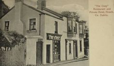 Restaurant in Howth c1907