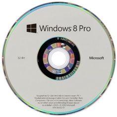 Windows 8 Pro OEM 32 Bit Vollversion Microsoft, 32 Bit, Windows 8, Operating System, Oem, Geek Stuff, Geek Things