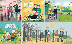 Geboortekaartjes op maat door Tjarda Borsboom - www.zwiep.nu