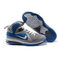 info for 781e8 a687e Nike Lebron 9 China Editon Grey/Blue Sport Lebron Shoes For Sale, Basketball  Shoes