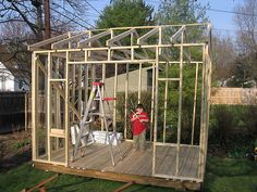 How to Build a Shed in One Weekend -- via wikiHow.com