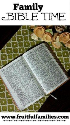 Family Bible Time - Abiding Woman