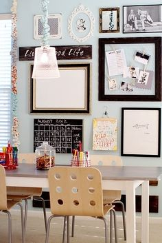 """A """"Modern Rustic"""" Classroom 