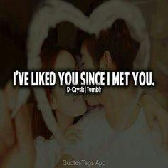 Love Quates, I Meet You, Like You, Amor Quotes