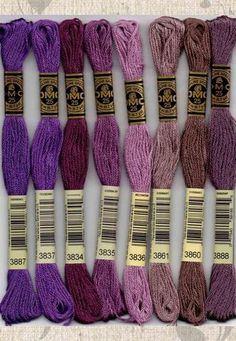 DMC Stranded fil de coton couleur 3777 pour broderie et point de croix
