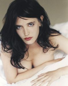 Eva Green- great hair. and boobs.