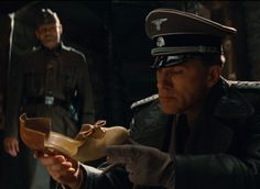 Col. Hans Landa, Inglorious Basterds #If the shoe fits... *****