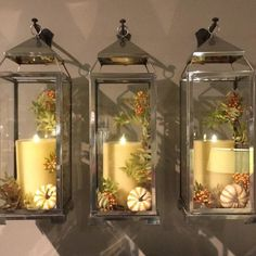 19 Recycled Home Decor Crafts for a Budget-Friendly Upgrade - The Trending House Recycled Home Decor, Lanterns Decor, Lantern Crafts, Fall Lanterns, Simple Baby Shower, Farmhouse Lighting, Painted Mason Jars, Easter Wreaths, Beach Themes