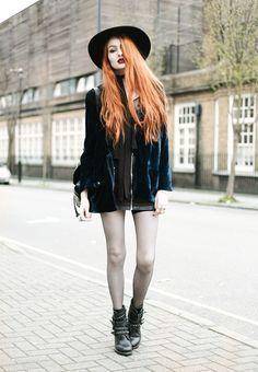 Olivia Emily - UK Fashion Blog.: Velvet Smoke.