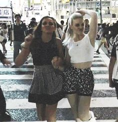 Jade and Perrie (gif)