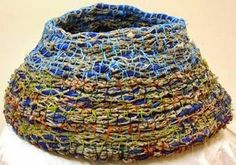 Contemporary Basketry: Ghost Net Baskets/Maria Ware