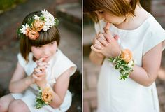 flower girl wrist corsage? this one is pretty -->