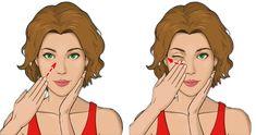Yoga Facial, Natalia Vodianova, Massage Facial Japonais, Daily Face Care Routine, Famous Supermodels, Japanese Massage, Facial Exercises, Face Massage, Les Rides