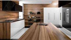 contemporary-kitchen-cabinets-wood-modern-kitchens-design.jpg (490×275)