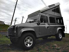 Pop-top Roof for Land Rover Defender and Toyota Landcruiser Troop Carrier