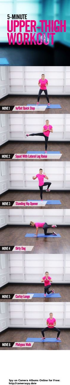 5 Min Thigh Workout | Posted By: NewHowToLoseBellyFat.com