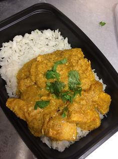 Indian Butter Chicken Curry  -- Evensen Personal Menus