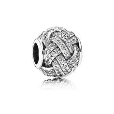 Sparkling Love Knot Charm For 2006 #CouplesTattooInspiration #BeadIdeas