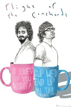 Flight of the Conchords <3