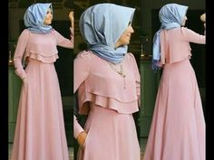 Party Fashion Women Chic 39 Ideas For 2019 Trendy Dresses, Modest Dresses, Simple Dresses, Casual Dresses, Dress Muslim Modern, Muslim Dress, Abaya Fashion, Modest Fashion, Fashion Dresses