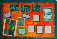 """Bulletin Boards to Remember: """"Who Are You?"""", by Katie Morris"""