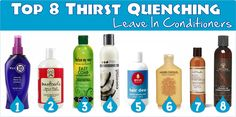 Top 8 Thirst Quenching Leave In Conditioners For Your Hair A post listing 8 great hair conditioners Natural Hair Tips, Natural Hair Growth, Natural Hair Journey, Natural Hair Styles, Natural Life, Leave In Conditioner, Hair Conditioner, My Hairstyle, Hairstyles