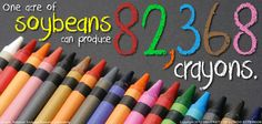 thanks to soybean farmers we have crayons #AmericasFarmers