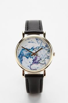 On The Map Leather Watch.. I really really really want this!