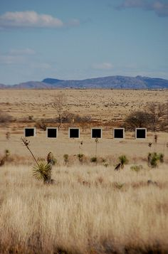 Donald Judd, Chinati Foundation, Marfa. See also: http://tmagazine.blogs.nytimes.com/2009/03/19/in-focus-americas-visual-splendor/