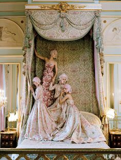 kate moss at the ritz paris #vogue shot by Tim Walker