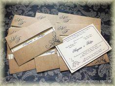 convites rusticos de casamento - Pesquisa Google