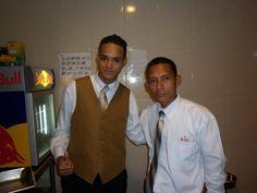 compañeros del HOTEL RIU