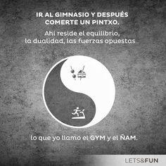 el GYM y el ÑAM. Diversión asegurada con http://es.letsbonus.com