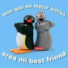 Noot Noot ( Créditos a sus creadores xd ) # Humor # amreading # books # wattpad Cute Memes, Funny Memes, Pingu Memes, Funny Spanish Memes, Meme Stickers, Relationship Memes, Meme Faces, Mood Pics, Reaction Pictures