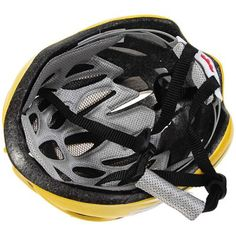 QQsports T-2754 Lightweight Cycling Protective Helmet Outdoor Sports Headgear with Adjustable Buckle (Yellow) #jewelry, #women, #men, #hats, #watches, #belts, #fashion