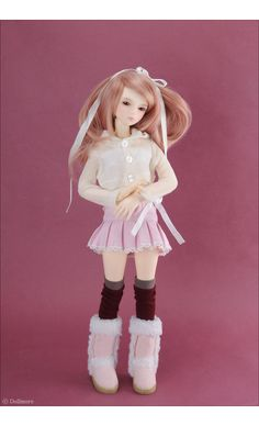 MSD - Mini Cardigan (Ivory)