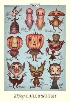 Retro Halloween is everything. Retro Halloween, Fröhliches Halloween, Halloween Images, Halloween Cupcakes, Holidays Halloween, Halloween Poster, Vintage Halloween Cards, Halloween Costumes, Halloween Pumpkins